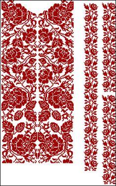 """Схема для машинної вишивки чоловічої сорочки """"Ніжні Троянди"""", 150UAH"""