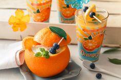 Zužitkujte pomeranče do posledního kousku! Vydlabaný pomeranč využijte jako mističku pro skvělý krém a k tomu si dejte čerstvý fresh. A navíc recept na pomerančovou masku.
