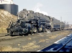 RailPictures.Net Photo: NW 2170 Norfolk & Western Steam 2-8-8-2 at Roanoke, Virginia by Bob Drake [Collection of Tom Sink]