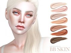 The Sims Resource: BB Skin • Sims 4 Downloads