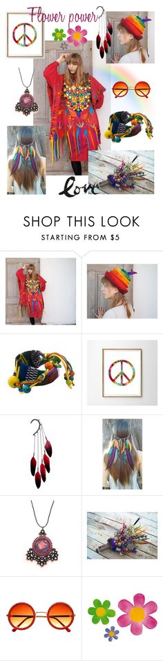 """Hippie summer"" by filcalki ❤ liked on Polyvore featuring NOVICA and Anni Jürgenson"