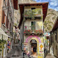 Limone sul Gardar, Italy   P H O T O B Y @lisampa.8    #italy