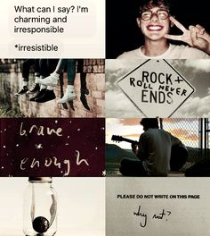character aesthetic: James Sirius Potter
