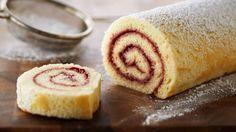 Receta | Brazo de gitano de mermelada de frambuesa (Classic raspberry jelly roll) - canalcocina.es