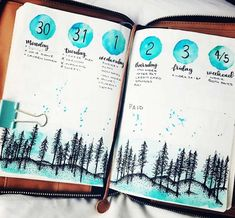 Amazing Winter Bullet Journal Theme Ideas To Try This Season - - Get inspired for your winter bullet journal. Find January bullet journal themes, December bullet journal, winter collections for your bujo & winter doodles. Bullet Journal August, Autumn Bullet Journal, Bullet Journal Christmas, Bullet Journal Quotes, Bullet Journal Ideas Pages, Bullet Journal Spread, Bullet Journal Layout, Bullet Journal Inspiration, Journal Fonts