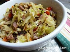 Low Carb Pork Egg Roll In A Bowl
