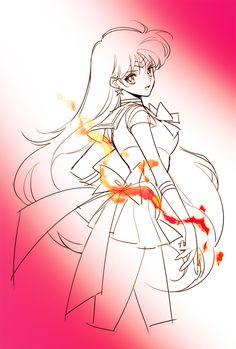 Sailor Mars Sailor Marte Rei  Princess Mars Sailor Moon