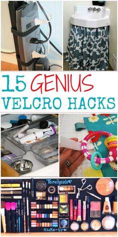 15 Genius Hacks with Velcro - One Crazy House