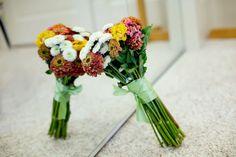 Kimberly's bouquet ~ from Kimberly & Judd's offbeat DC wedding!