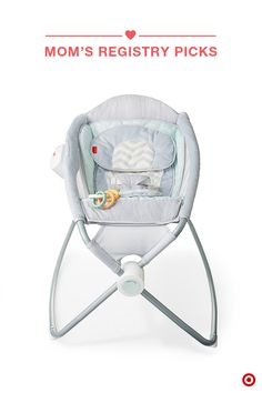 Lightweight and portable, the Fisher-Price Sweet Surroundings Deluxe Newborn Rock 'n Play Sleeper will help your babe catch some zzz's. Your gentle push easily rocks the sleeper back and forth, and the optional calming vibrations help soothe your baby. Did we mention it's deluxe? It's a nighttime sleeper and play seat in one—an awesome Baby Registry addition. And, it's only at Target.