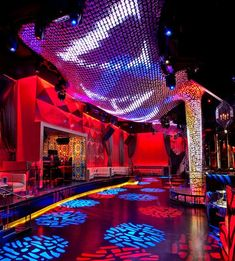 Vanity Nightclub at the Hard Rock Hotel & Casino.  http://www.justleds.co.za