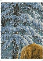 Gallery.ru / Фото #1 - 7 - TATO4KA6 Cross Stitch Embroidery, Horses, Outdoor, Places, Nativity Scenes, Dots, Outdoors, Lugares, Horse