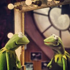 muppetmindset: Reflections in Green