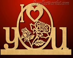 Scroll Saw Patterns :: Special occasions :: Valentine's day & Hearts - maybe for future reference gift. Intarsia Woodworking, Woodworking Patterns, Woodworking Projects, Scroll Saw Patterns Free, Scroll Pattern, Valentines Day Hearts, Valentine Day Love, Kirigami, Laser Cutter Projects