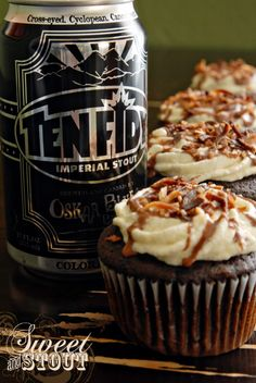 This beer... the cupcakes... I'm in love!