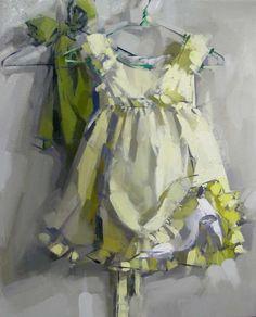 Little dress on hanger