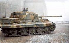 B German Tiger II Königstiger King Tiger Tank Tiger Ii, Tiger Cubs, Bear Cubs, War Thunder, Tiger Tank, Tank Destroyer, Armored Fighting Vehicle, Ww2 Tanks, World Of Tanks