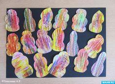 Детское творчество в технике «каляки-маляки». Фотоотчёт. Воспитателям детских садов, школьным учителям и педагогам - Маам.ру