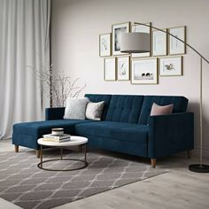 Best Affordable Sofas for Small Spaces at Joss & Main Living Room Inspo, Living Room Design Small Spaces, Small Living Rooms, Sofas For Small Spaces, Modern Sleeper Sofa, Living Room Designs, Sleeper Sectional, Modern Furniture Living Room, Sectional Sofa