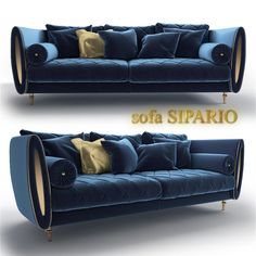 Sipario sofa from Arredoclassic 3D Model .max .c4d .obj .3ds .fbx .lwo .stl @3DExport.com by viiik33