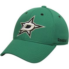 sports shoes 455c5 f8d28 Dallas Stars Reebok Face-Off Team Structured Flex Hat - Kelly Green