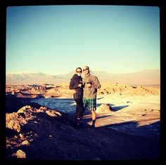"""This Couple Said """"I Do"""" To A Round The World Adventure."""