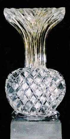 Vase Ice Sculpture
