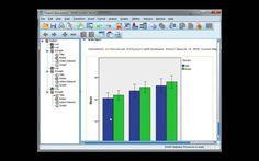 Create a clustered bar or line chart of means for repeated measures data using SPSS. ASK SPSS Tutorial Series