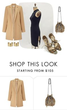 """Date Night Sleek"" by bethanys-style-aisle on Polyvore featuring BCBGMAXAZRIA, Oscar de la Renta, Miss Selfridge, ASPIGA, Blue Nile, women's clothing, women's fashion, women, female and woman"