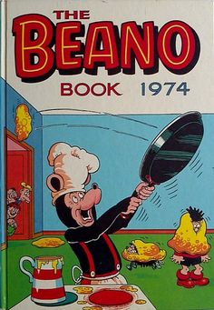 A Beano annual from 1974 in very good used original condition. A nice copy which is unclipped with otherwise light wear for its age (See photos). 1970s Childhood, My Childhood Memories, Old Comics, Funny Comics, Comic Covers, Book Covers, Morning Cartoon, Thing 1, Comic Character