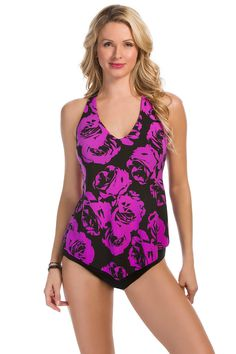d82026501a8bd Rose Taylor, Purple Roses, Tankini Top, Warm Weather, Purple Rose