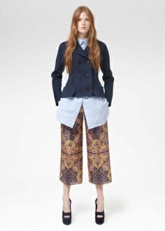 Try wearing culottes, remember a balanced outfit will be key!