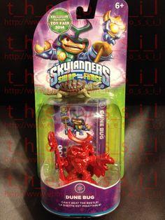 Rare SkyLanders Swap Force Metallic Red Dune Bug Exclusive Edition Toy Fair 2014