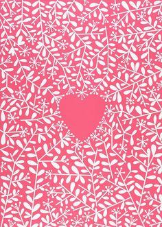 Love Grows in Raspberry Sorbet ❤ heart