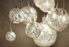 Maroc - Marokkkaanse oosterse sfeer - orientaalse lamp
