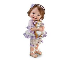 Dolls: Fur-ever Friends Child Doll Collection