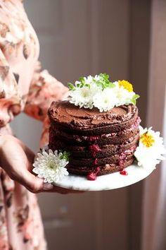 Sweet Laurel's Grain-Free Chocolate Raspberry Cake   Joy the Baker