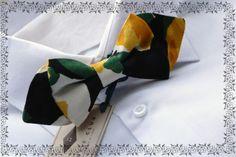 #BowTies #YellowFlower #silk