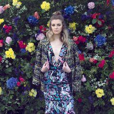 Photo: Deimante Photocreations ©  Floral fashion editorial