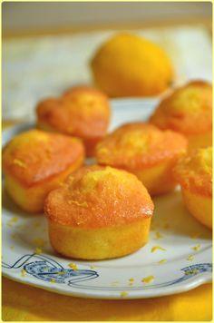 Moelleux au citron du Chef Damien, un délice !