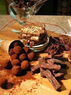 Miel Bonbons, Carrboro NC (www.mielbonbons.com) Cake & Co, Chocolates, North Carolina, Desserts, Cakes, Food, Tailgate Desserts, Deserts, Cake Makers