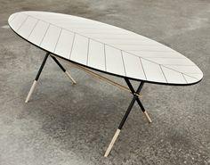 Piuma Table by Italian Furniture Designer Pietro Russo | Yellowtrace.