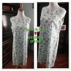 ❌FINAL PRICE❌SUSAN BRISTOL SPRING DRESS Love this Susan Bristol Spring Sleeveless Dress💐💐💐💐💐💐 in ️SIZE 10 Susan bristol Dresses