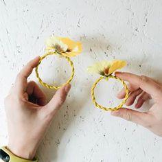 Häkeln: Luftmaschen • yellowgirl der DIY-Lifestyle Blog Diy Choker, Blog, Script Logo, Simple Diy, Blogging