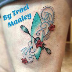 Kayak paddle tattoo google search tattoo pinterest for Canoe paddle tattoo