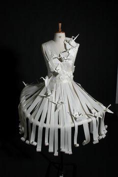 Sitio para todo: Vestidos de papel