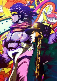 Stand user: Jotaro Kujo Stand name: Star platinum Jojo's Bizarre Adventure Stands, Jojo's Bizarre Adventure Anime, Wallpaper Animes, Animes Wallpapers, Manga Anime, Anime Art, Star Platinum, Jojos Bizarre Adventure Jotaro, Jojo Stardust Crusaders