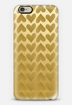 iPhone 6 case by Anchobee | Casetify #phonecase #cases #hearts #gold #iphone #android #freeshipping  #transparentcase www.casetify.com/anchobee