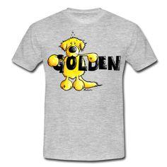 Camiseta con perro Golden Retriever. Camisetas con diferentes razas de  perros en Striking-Shirts 2a682dff39358