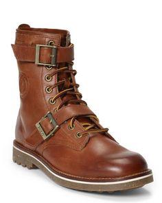 Maurice Oiled Leather Boot - Polo Ralph Lauren Boots - RalphLauren.com